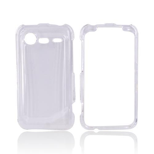 HTC Droid Incredible 2 Hard Case - Transparent Clear