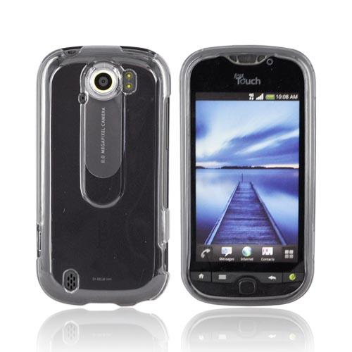 HTC Mytouch 4G Slide Hard Case - Transparent Smoke