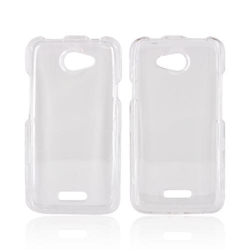 HTC One X Hard Case - Transparent Clear