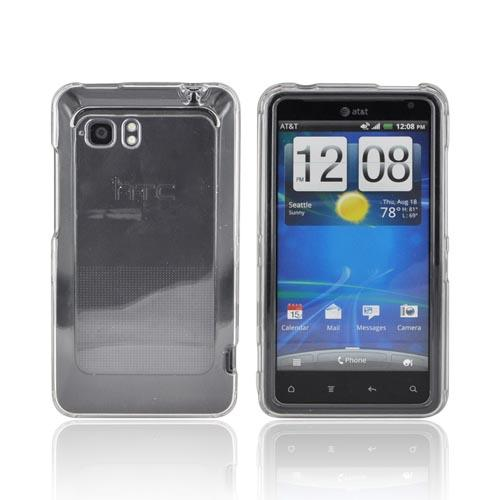 HTC Vivid Hard Case - Clear