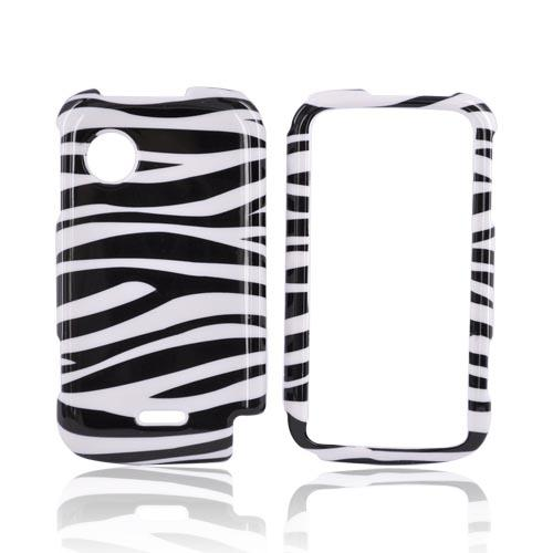 Huawei M735 Hard Case - Black/White Zebra