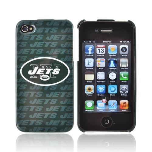 NFL Licensed Apple iPhone 4/4S Hard Case - New York Jets
