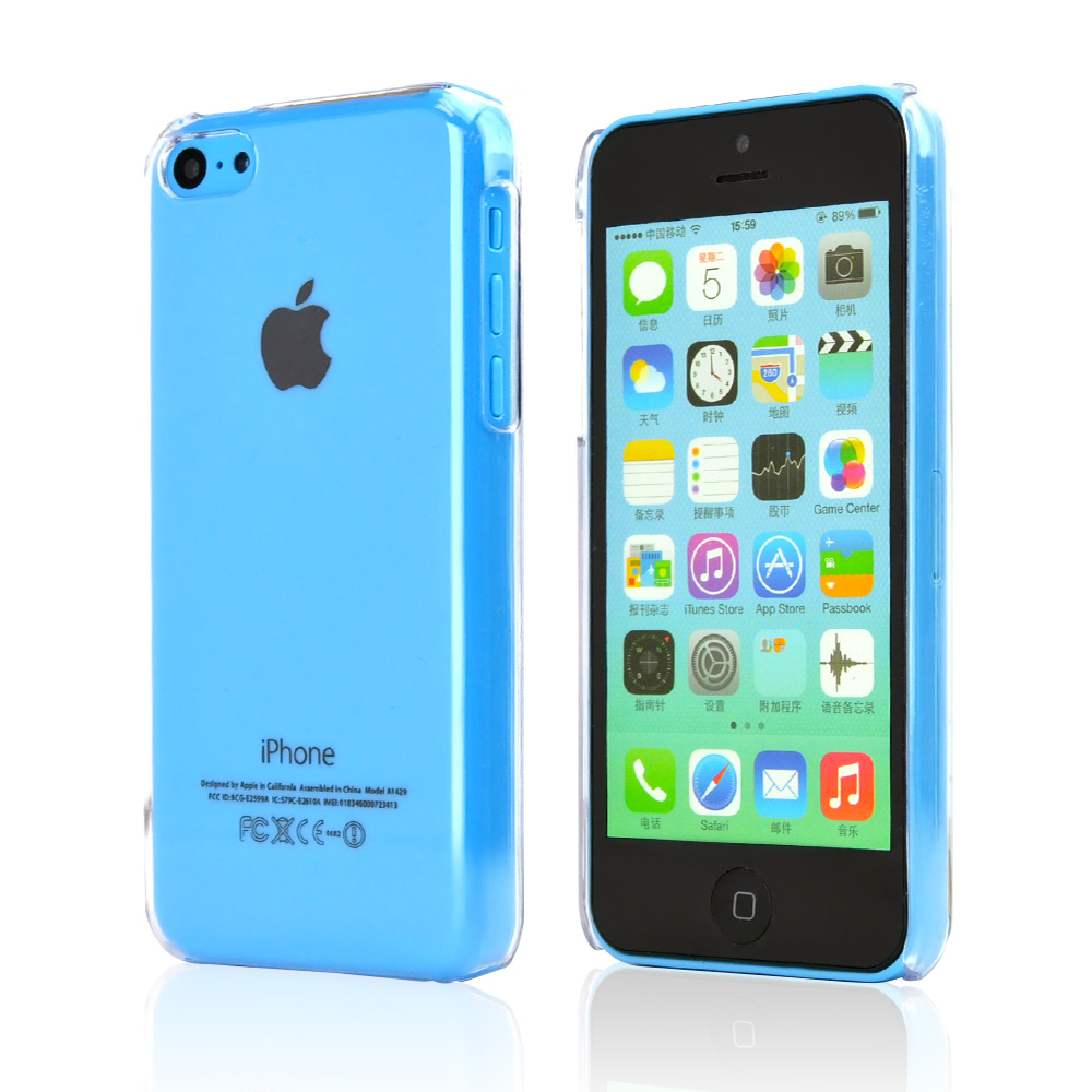 Clear Hard Case for Apple iPhone 5C