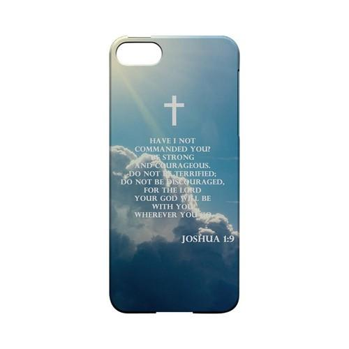 Joshua 1:9 - Geeks Designer Line (GDL) Bible Verse Series Hard Back Cover for Apple iPhone 5/5S