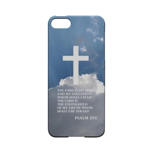 Psalm 27:1 - Geeks Designer Line (GDL) Bible Verse Series Hard Back Cover for Apple iPhone 5/5S