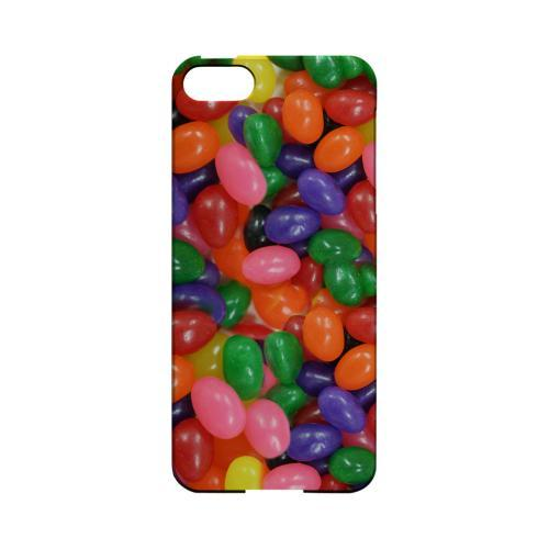 Assorted Jelly Beans Geeks Designer Line Candy Series Slim Hard Back Cover for Apple iPhone 5/5S