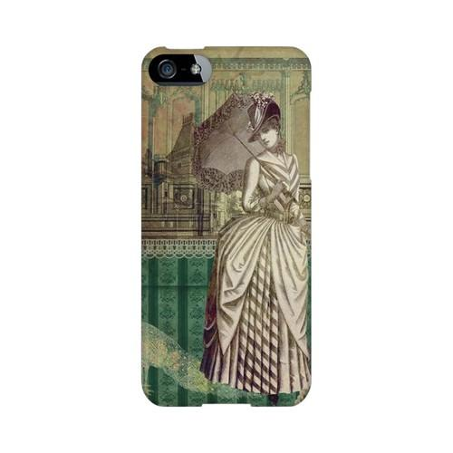 Glossy Southern Belle Americana Nostalgia Series GDL Ultra Slim Hard Case for iPhone 5/5S Geeks Designer Line