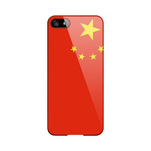 China Geeks Designer Line Flag Series Slim Hard Case for Apple iPhone 5/5S