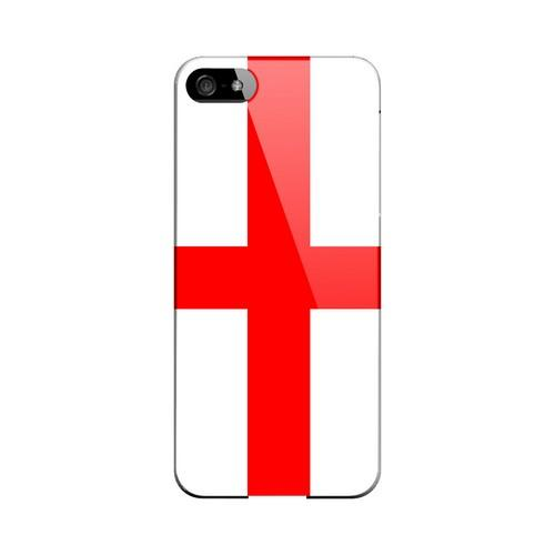 England Geeks Designer Line Flag Series Slim Hard Case for Apple iPhone 5/5S