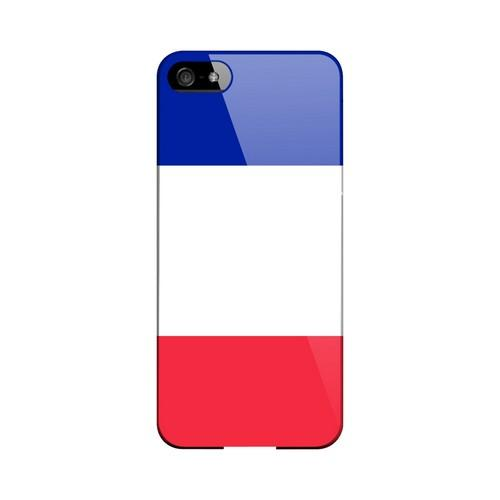 France Geeks Designer Line Flag Series Slim Hard Case for Apple iPhone 5/5S