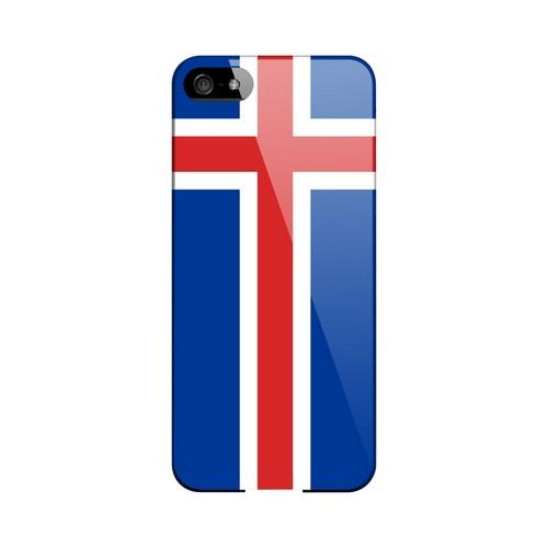 Iceland Geeks Designer Line Flag Series Slim Hard Case for Apple iPhone 5/5S