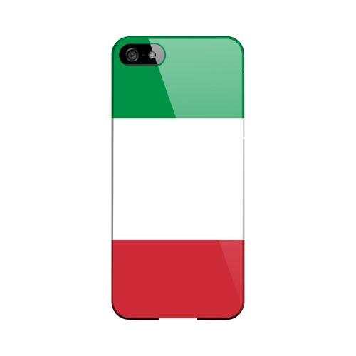 Italy Geeks Designer Line Flag Series Slim Hard Case for Apple iPhone 5
