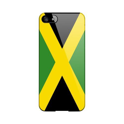 Jamaica Geeks Designer Line Flag Series Slim Hard Case for Apple iPhone 5