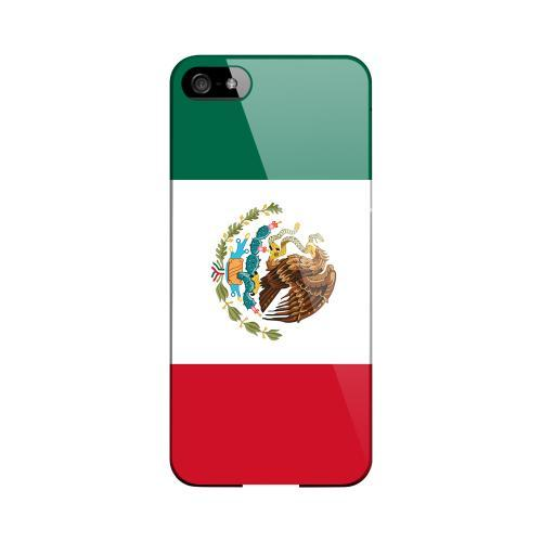 Mexico Geeks Designer Line Flag Series Slim Hard Case for Apple iPhone 5