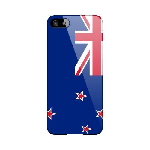 New Zealand Geeks Designer Line Flag Series Slim Hard Case for Apple iPhone 5