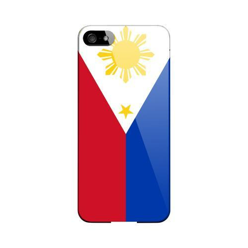 Philippines Geeks Designer Line Flag Series Slim Hard Case for Apple iPhone 5/5S