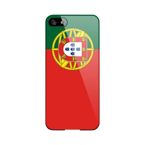 Portugal Geeks Designer Line Flag Series Slim Hard Case for Apple iPhone 5