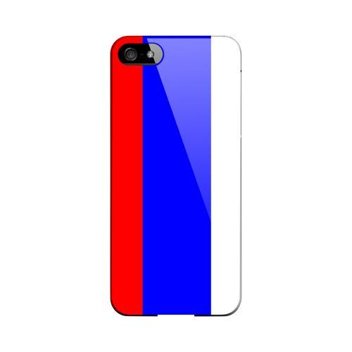 Russia Geeks Designer Line Flag Series Slim Hard Case for Apple iPhone 5/5S