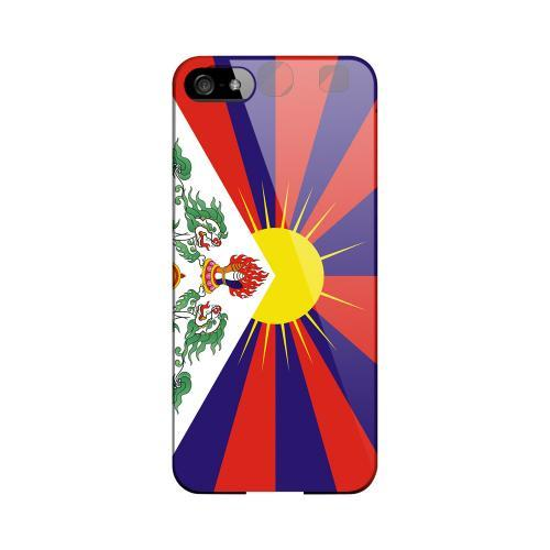 Tibet Geeks Designer Line Flag Series Slim Hard Case for Apple iPhone 5/5S