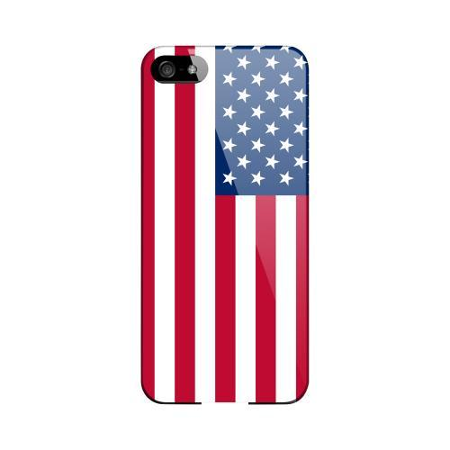 United States Geeks Designer Line Flag Series Slim Hard Case for Apple iPhone 5/5S