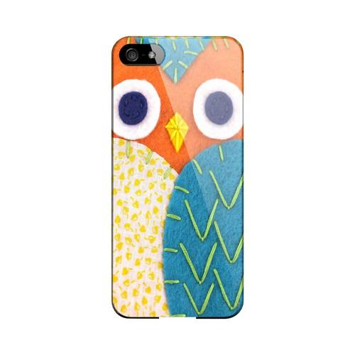 Orange/ Blue Owl Geek Nation Program Exclusive Jodie Rackley Series Hard Case for Apple iPhone 5/5S