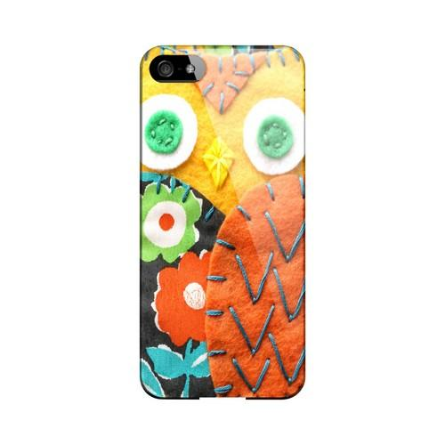 Yellow/ Orange Owl Geek Nation Program Exclusive Jodie Rackley Series Hard Case for Apple iPhone 5/5S