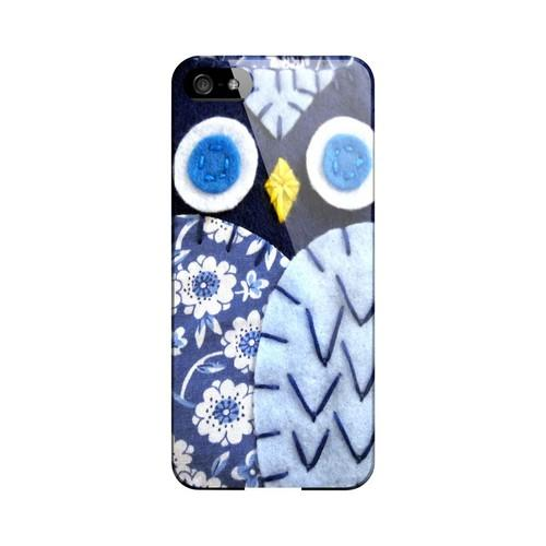 Night Blue Owl Geek Nation Program Exclusive Jodie Rackley Series Hard Case for Apple iPhone 5/5S