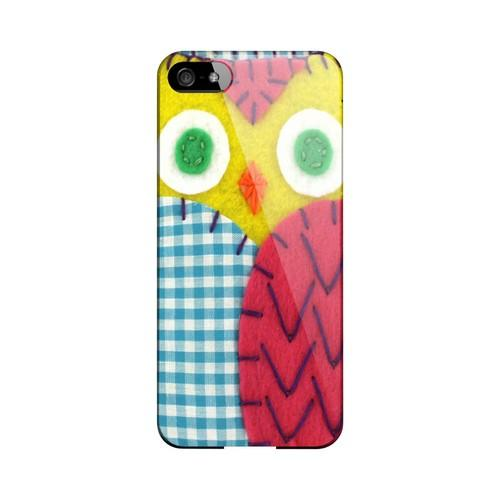 Yellow/ Maroon Owl Geek Nation Program Exclusive Jodie Rackley Series Hard Case for Apple iPhone 5/5S