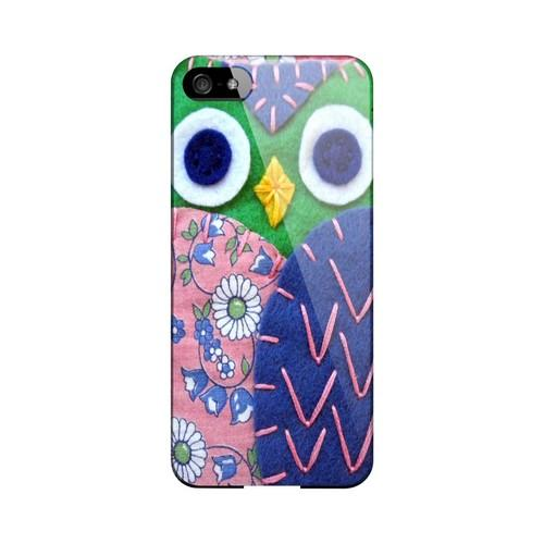 Green/ Blue Owl Geek Nation Program Exclusive Jodie Rackley Series Hard Case for Apple iPhone 5/5S