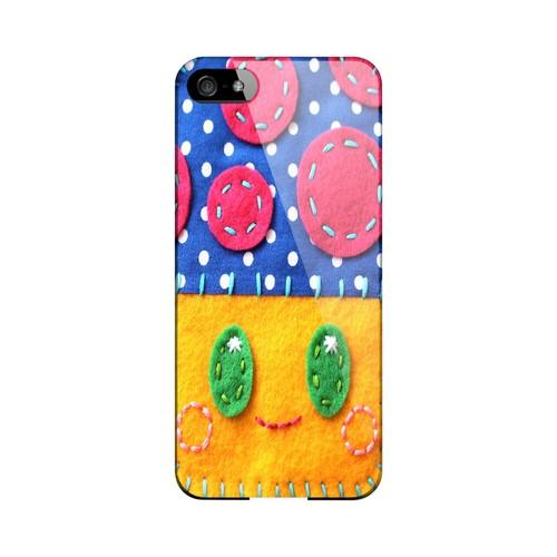 Blue/ Yellow Mushroom Geek Nation Program Exclusive Jodie Rackley Series Hard Case for Apple iPhone 5/5S
