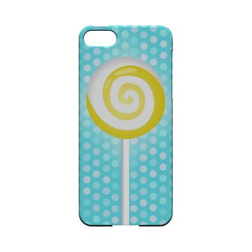 Yellow Lollipop Geeks Designer Line Candy Series Slim Hard Back Cover for Apple iPhone 5/5S