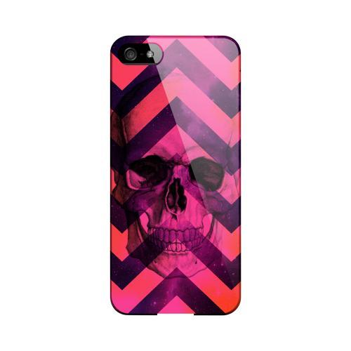 Pink Space Death Geeks Designer Line Zig Zag Series Slim Hard Case for Apple iPhone 5/5S