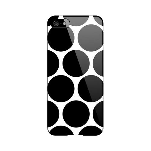 Big & Black Geeks Designer Line Polka Dot Series Slim Hard Case for Apple iPhone 5/5S