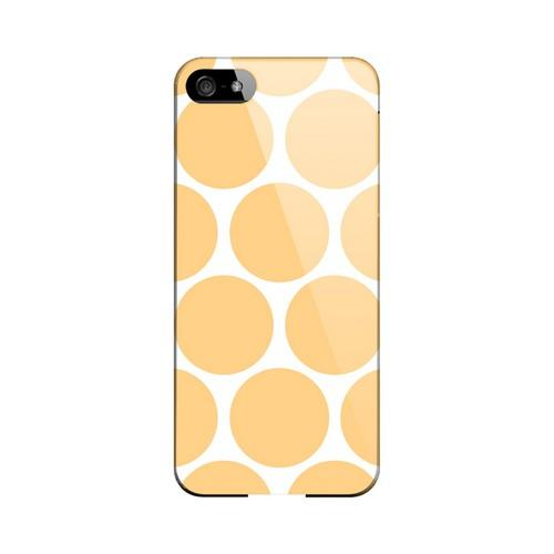 Big & Orange Geeks Designer Line Polka Dot Series Slim Hard Case for Apple iPhone 5/5S