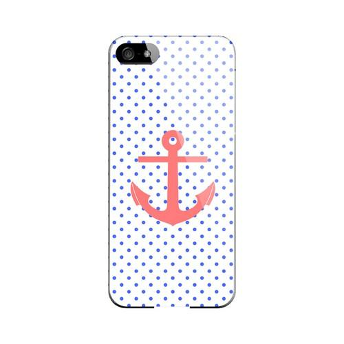Anchor Geeks Designer Line Polka Dot Series Slim Hard Case for Apple iPhone 5/5S