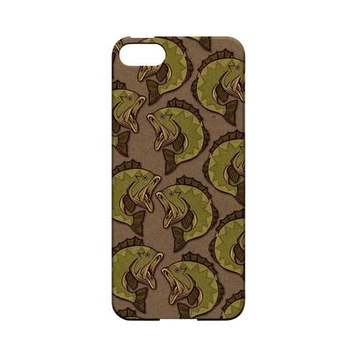 Large Mouth Bass Design - Geeks Designer Line (GDL) Fish Series Hard Back Cover for Apple iPhone 5/5S