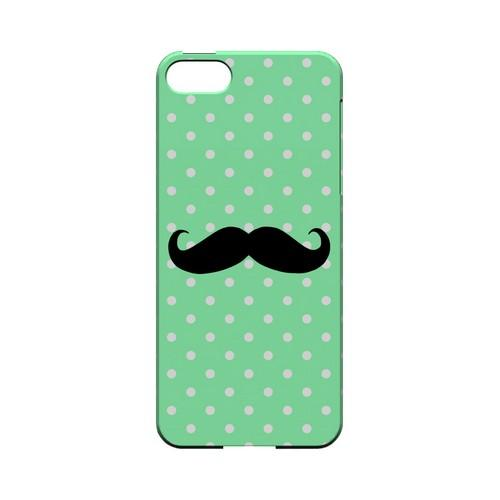 Stache on Mint Geeks Designer Line Polka Dot Series Slim Hard Case for Apple iPhone 5/5S