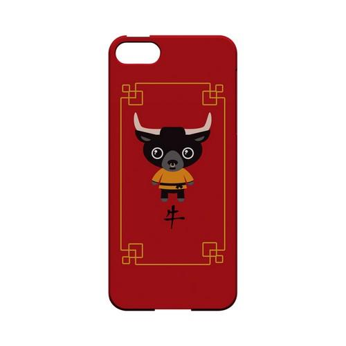 Chibi Ox Geeks Designer Line Chinese Horoscope Series Slim Hard Case for Apple iPhone 5/5S