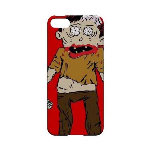 Zombie on Red - Geeks Designer Line (GDL) Monster Mash Series Hard Back Cover for Apple iPhone 5/5S