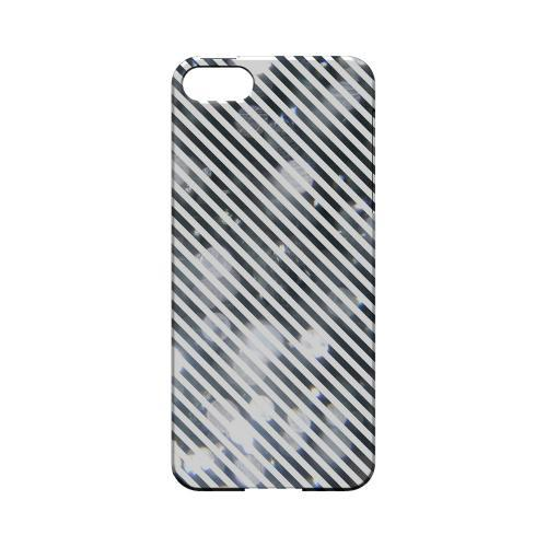 Thin Shimmer Diagonal - Geeks Designer Line Stripe Series Hard Case for Apple iPhone 5/5S