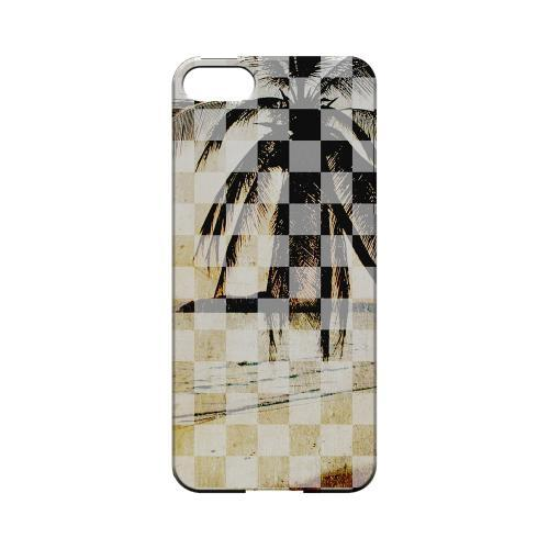Palm Tree - Geeks Designer Line Checker Series Hard Case for Apple iPhone 5/5S