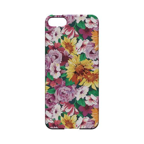 Pink/ Orange Flowers - Geeks Designer Line Floral Series Hard Case for Apple iPhone 5/5S