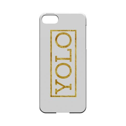 Gold YOLO - Geeks Designer Line YOLO Series Hard Case for Apple iPhone 5/5S