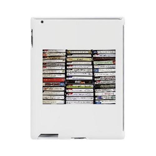 Geeks Designer Line (GDL) Retro Series Apple iPad (2nd & 3rd Gen.) Slim Hard Back Cover - VHS