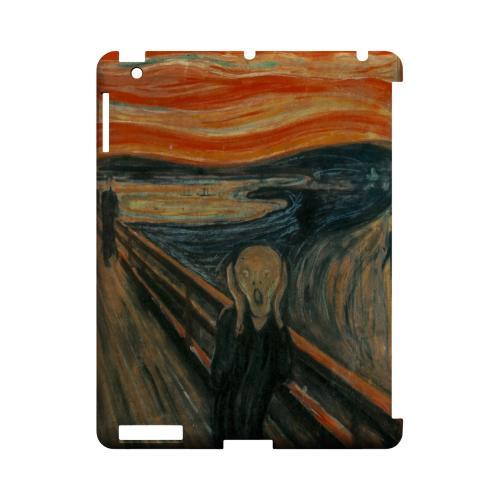 Edward Munch The Scream Geeks Designer Line Artist Series Slim Hard Case for Apple iPad (3rd & 4th Gen.)