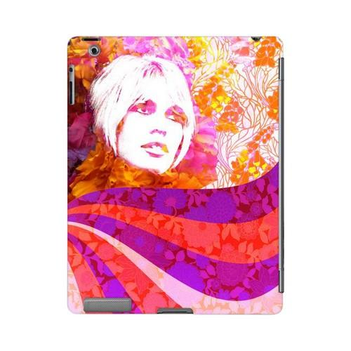 Flowerchild Americana Nostalgia Series GDL Ultra Slim Hard Case for Apple iPad 2/3 Geeks Designer Line