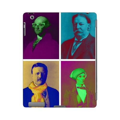 Hip Before It Was Cool Americana Nostalgia Series GDL Ultra Slim Hard Case for iPad 2/3 Geeks Designer Line