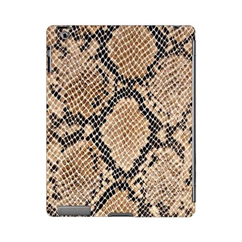 Rattlesnake Skin Animal Series GDL Ultra Slim Hard Case for Apple iPad 2/3 Geeks Designer Line