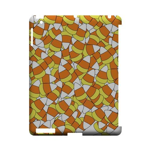 Candy Corn Galore Geeks Designer Line Candy Series Slim Hard Back Cover for Apple iPad (3rd & 4th Gen.)