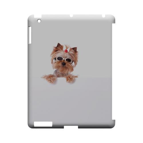 Yorkshire Terrier Geeks Designer Line Puppy Series Slim Hard Case for Apple iPad (3rd & 4th Gen.)